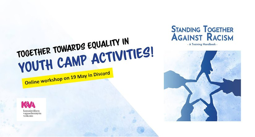 "Coming up: Online workshop ""Together towards equality in youth camp activities!"""